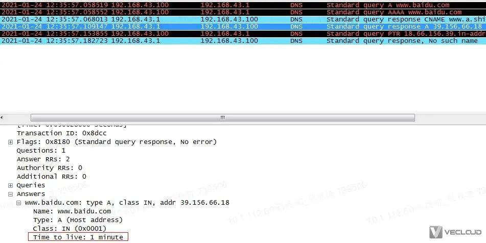 DNS解析及缓存技术研究与应用